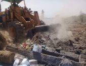 إزالة 4 مخالفات على نهر النيل فى محافظة أسيوط