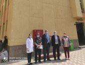 قيادات الهيئة العامة للاعتماد يتابعون العمل بمستشفى الأقصر العام.. صور