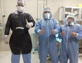 تمريض مستشفى طوارئ طنطا الجامعي في مواجهة كورونا