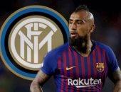 إنتر ميلان ينهى صفقة ضم فيدال من برشلونة مقابل مليون يورو !