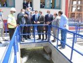 محافظ الغربية يفتتح محطة مياة مرشحة المحلة بتكلفة إجماليه 190 مليون جنيه