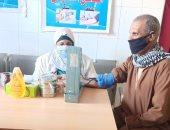 توقيع الكشف الطبى على 1496 حالة ضمن قافلة بقرية جبل الطير في المنيا