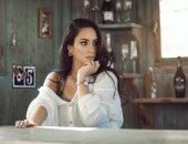 """بسنت شوقى تصور """"نمرة اتنين"""" مع عمرو يوسف وطارق العريان"""