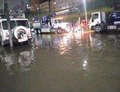 قطع المياه عن بعض المناطق بالقاهرة بسبب كسر فى أحد مواسير الصرف بالأوتوستراد