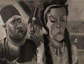 """""""عمر"""" فنان يشارك صحافة المواطن برسومات كاريكاتير للمشاهير"""