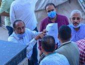 إقبال على التقدم بطلبات التصالح بالإسكندرية وتوفير سبل الراحة لكبار السن (صور)