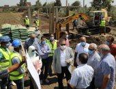 محافـظ المنوفية يتابع مشروعات المياه والصرف الصحي بتكلفة 249مليون جنيه.. صور