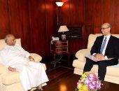 سفير مصر فى كولومبو يلتقى وزير خارجية سريلانكا الجديد ويسلمه خطاب من سامح شكرى