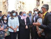 وزيرة الهجرة تؤكد حرص الدولة على تطوير العشوائيات وتحسين الخدمات المقدمة للمواطن