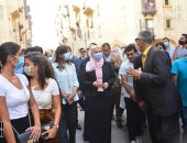 وزيرتا الهجرة والتضامن وشباب المصريين بالخارج فى مشروع روضة السيدة.. صور