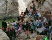 المشاركون فى معسكر زهرة المخيمات يشيدون بجمال وادى الواشواش بنويبع.. صور