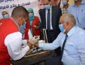 انطلاق مبادرة 100 مليون صحة لعلاج الأمراض المزمنة بالوادى الجديد.. صور