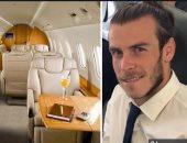 طائرة التوقيع مع جاريث بيل.. استقلتها الملكة الشهر الماضي وتسير بسرعة 490 ميلًا.. صور