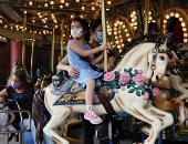 ضحك ولعب ومناظر خلابة.. هونج كونج تعيد فتح حديقة أوشن بارك.. ألبوم صور