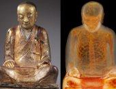 شاهد مومياء راهب داخل تمثال لـ بوذا.. قصته غريبة