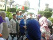 """بالصور ..""""الشباب و الرياضة """" بالإسكندرية تنظم مبادرة """"تعالو نعلم بعض"""""""