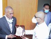جامعة مصر للعلوم والتكنولوجيا تطلق اسم الشهيد محمد أشرف على مدرج بمستشفى سعاد كفافى الجامعى