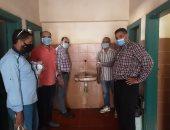 """شركة مياه المنيا تستعد للعام الدراسى الجديد بـ""""بوسترات"""" توعية وصيانة المدارس"""