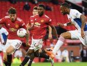 مانشستر يونايتد يقص شريط افتتاح الجولة الثالثة من الدوري الإنجليزي ضد برايتون
