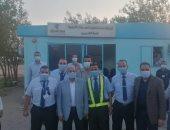 رئيس مصر للطيران للخدمات الأرضية يتفقد سير العمل بمحطة مطار شرم الشيخ