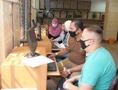 مستشفى الطلبة بالجيزة تستقبل طلاب جامعة القاهرة الجدد لإجراء الكشف الطبى