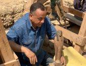 الآثار تعلن اكتشاف 14 تابوتا جديدا فى منطقة سقارة