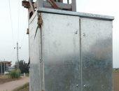 """كهرباء البحيرة : تغيير كامل للوحة محول عزبة الصياد إستجابة لـ""""اليوم السابع"""""""