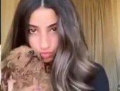 لى لى أحمد حلمى تخطف الأنظار بأحدث ظهور ترقص مع كلبها.. فيديو
