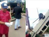 مصرع 15 على الأقل فى سقوط حافلة بنهر جنوب شرق نيجيريا