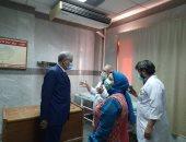 إعادة فتح مستشفى التأمين الصحى بنى سويف بعد خروج آخر حالة كورونا