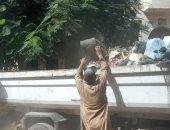 رفع 40 طن مخلفات من شوارع مدينة ساقلته شرقى سوهاج