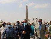 وزير السياحة يوجه بإضافة قطع أثرية لمتحف العاصمة الإدارية الجديدة.. صور
