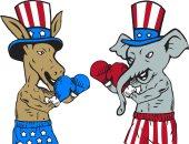 فيل وحمار وبطة عرجاء.. رموز السياسة الأمريكية مع اقتراب مارثون الانتخابات