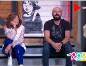 """أحمد صلاح حسنى يكشف معنى كلمة """"طبطبة"""" فى برنامج راجل و2 ستات"""