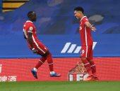 """تشيلسي ضد ليفربول.. ساديو ماني يضيف الثاني من خطأ فادح للحارس كيبا """"فيديو"""""""