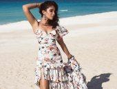 """منى زكى تودع الصيف بأحدث جلسة تصوير على شاطئ البحر """"صور"""""""
