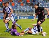 ريال مدريد يسقط أمام سوسيداد سلبيًا في بداية مشوار الدفاع عن لقب الليجا