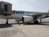 مطار الغردقة الدولى يستقبل أولى رحلات شركة Chair airline السويسرية