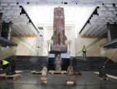 ما هى أبرز القطع الأثرية التى استقبلها متحف العاصمة الإدارية الجديدة؟
