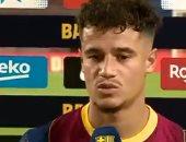 كوتينيو بعد أول ظهور له مع برشلونة عقب العودة: اشتقت لملعب كامب نو
