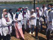 """90 طالبا بـ""""زراعة سوهاج"""" يشاركون فى التدريب الصيفى بشركة مياه الشرب"""