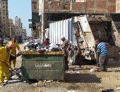 حملات نظافة مكثفة لرفع القمامة والمخلفات وتجميل الشوارع بالشرقية