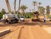 محافظة الجيزة ترصف شوارع بالعمرانية ومنشأة القناطر وتفتتح مكتب الشهر العقارى بوردان