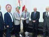 """""""أعضاء جوقة الشرف الفرنسية"""" تدعم بنوك الدم فى الصليب الأحمر اللبنانى"""