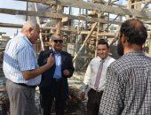 رئيس جامعة مدينة السادات يتفقد الأعمال الإنشائية إستعدادا للعام الجديد
