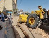 رئيس مدينة إسنا يناقش تسليم الشوارع ورفع المعوقات استعدادا لرصف الطرق