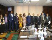 وزير الكهرباء يستقبل مستشار رئيس الكونغو للاستثمار لبحث سبل التعاون بين البلدين