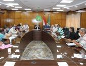 سكرتير عام محافظة المنوفية يعقد اجتماعا لبحث سبل تطوير العمل بإدارة الأزمات