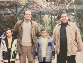 صورة نادرة للراحل علاء ولى الدين والمخرج شريف عرفة