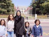 زوجة حفيد مؤسس قطر تكشف جرائم تميم ومعاناة أبنائها فى سجون الدوحة.. فيديو